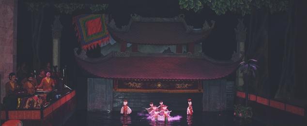 Teatro de marionetas de Hanoi