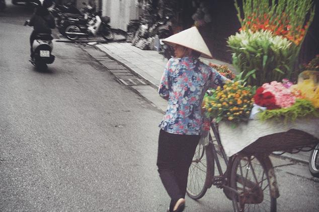 Bicicletas en Hanoi