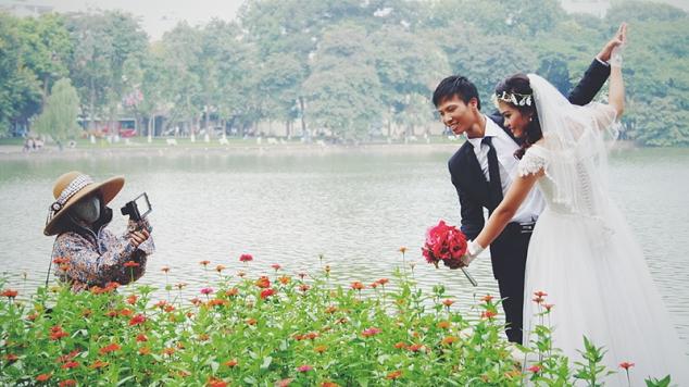 Novios en Hanoi