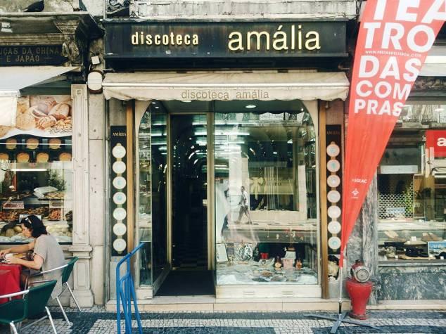 Tienda de discos Lisboa
